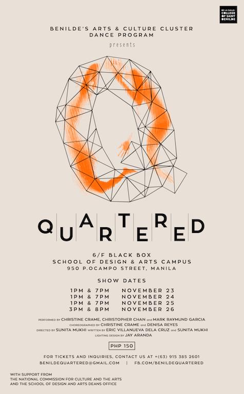 Quartered