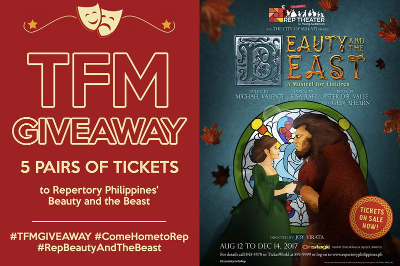 TFM Beauty and the Beast Give Away
