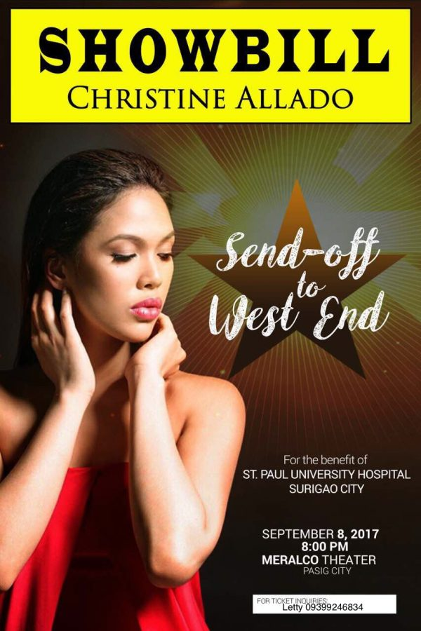 est End Hamilton's Christine Allado Performs Concert for a Cause!