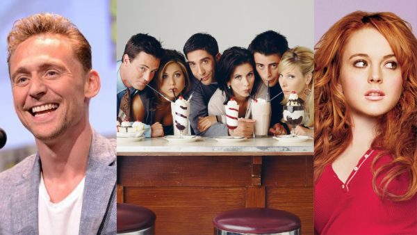 Hiddleston, FRIENDS, Mean Girls