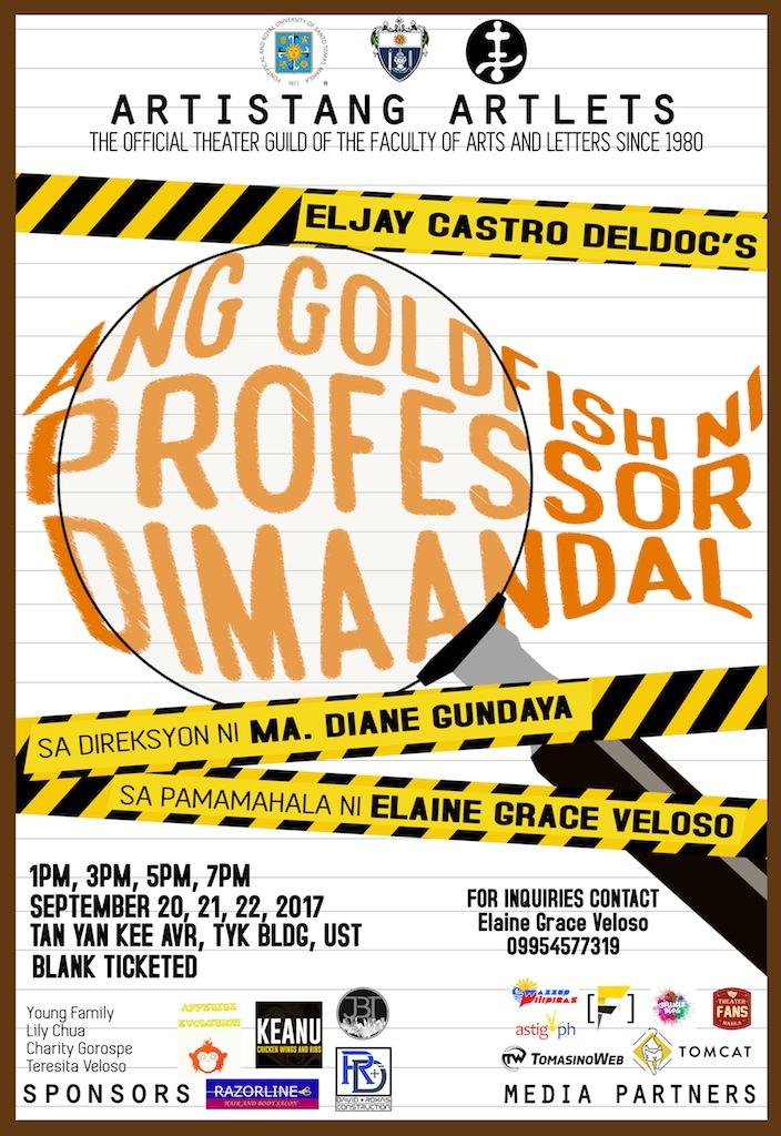 Ang Goldfish ni Professor Dimaandal