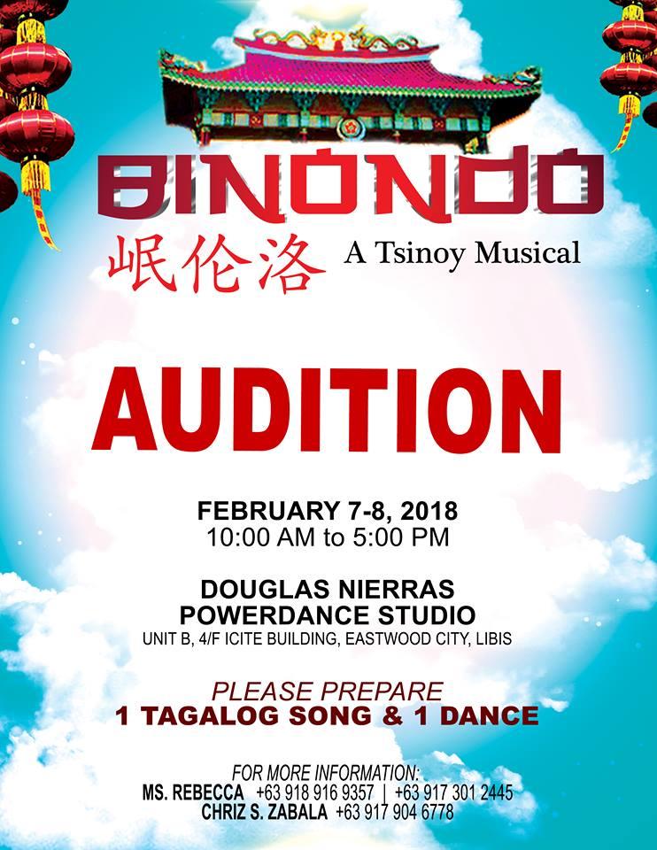 Binondo auditions