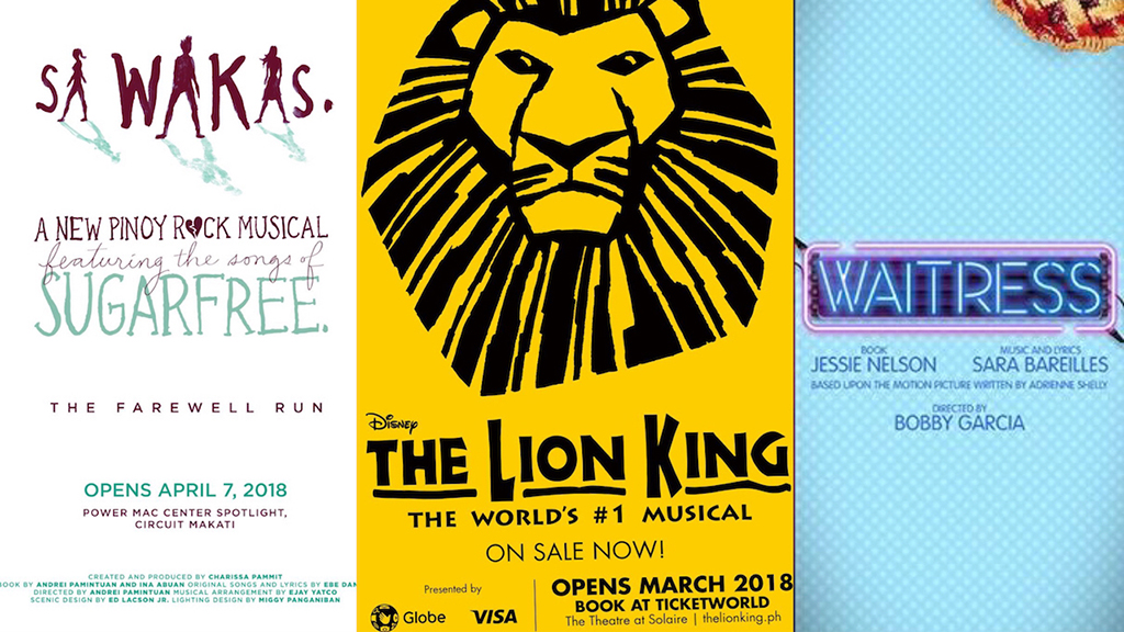 Musicals for 2018
