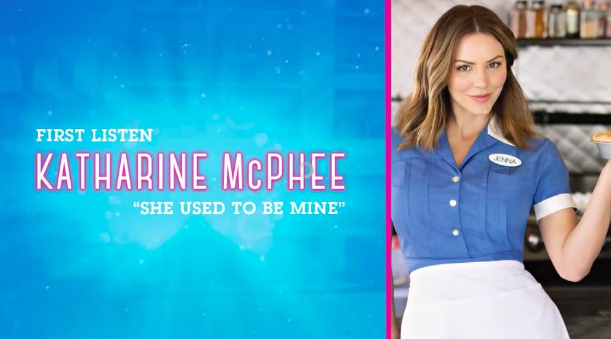 Listen Katharine Mcphee Sings Waitress She Used To Be Mine