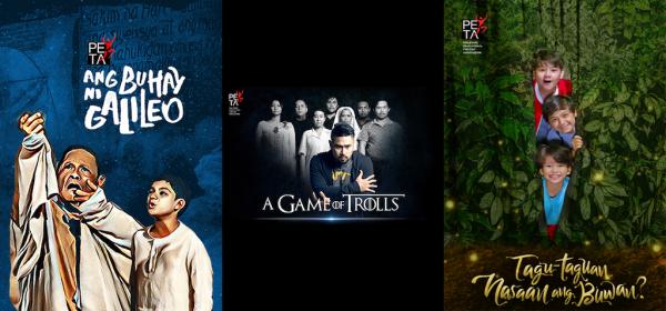 Ang Buhay ni Galileo, A Game of Trolls, Tagu-taguan Nasaan Ang Buwan