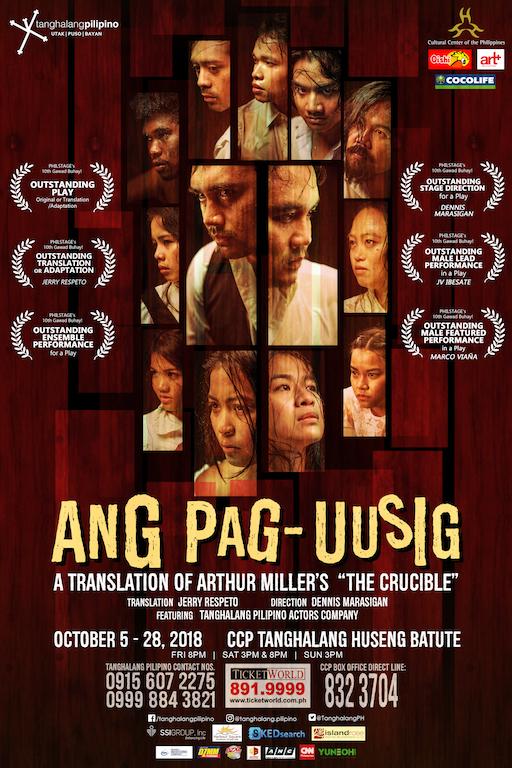 Ang Pag-uusig, The Crucible