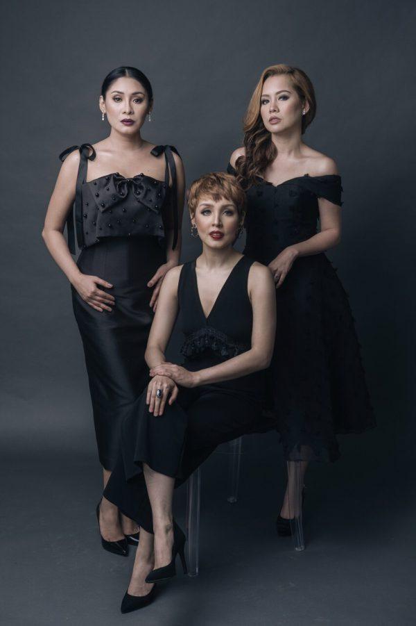 Carla Guevara Laforteza, Cris Villonco, Shiela Valderrama-Martinez
