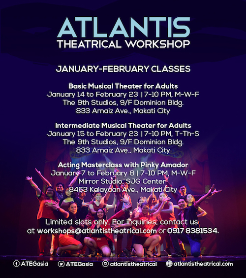 Atlantis 2019 workshops