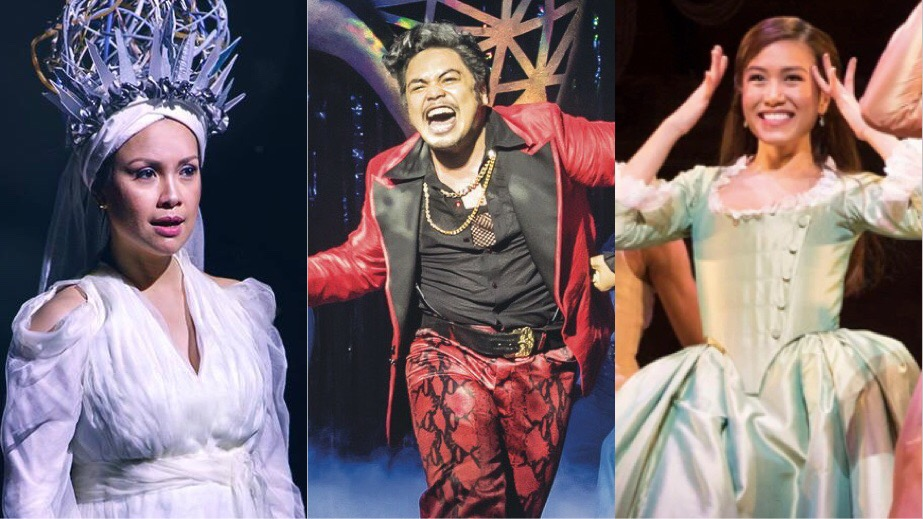 Lea Salonga, Red Concepcion, Rachelle Ann Go