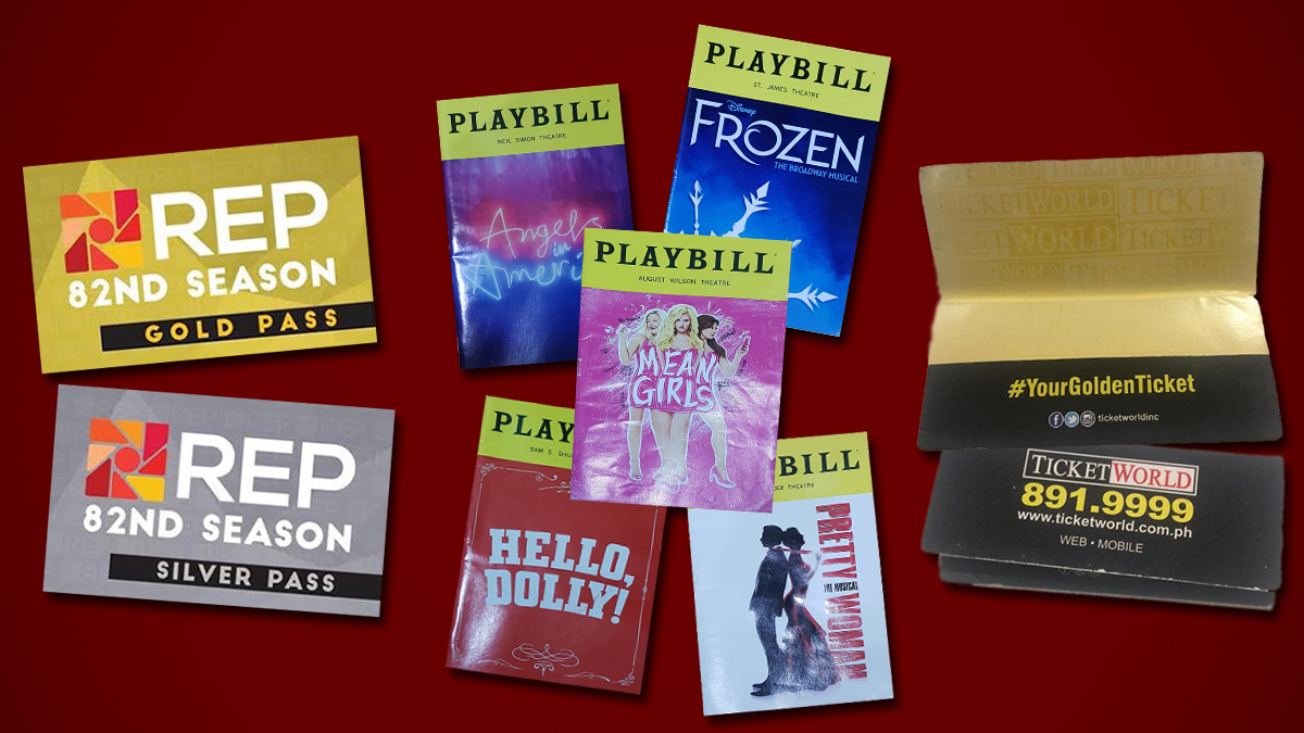 REP, Ticketworld, playbill
