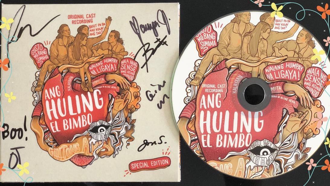 Ang Huling El Bimbo cast recording