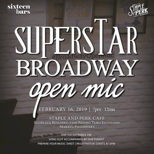 Broadway Open Mic