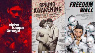 Spring Awakening, AKO: Alpha Kappa Omega, Freedom Wall