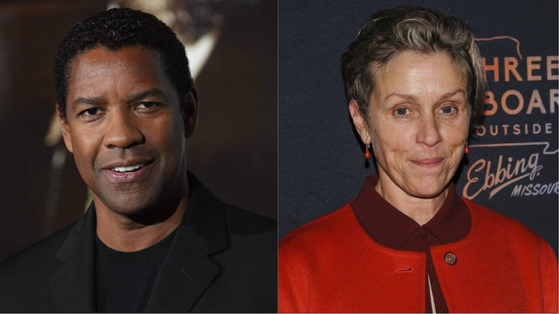 Denzel Washington, Frances McDormand, Macbeth