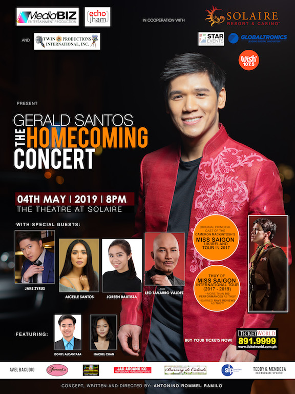 Gerald Santos Homecoming Concert