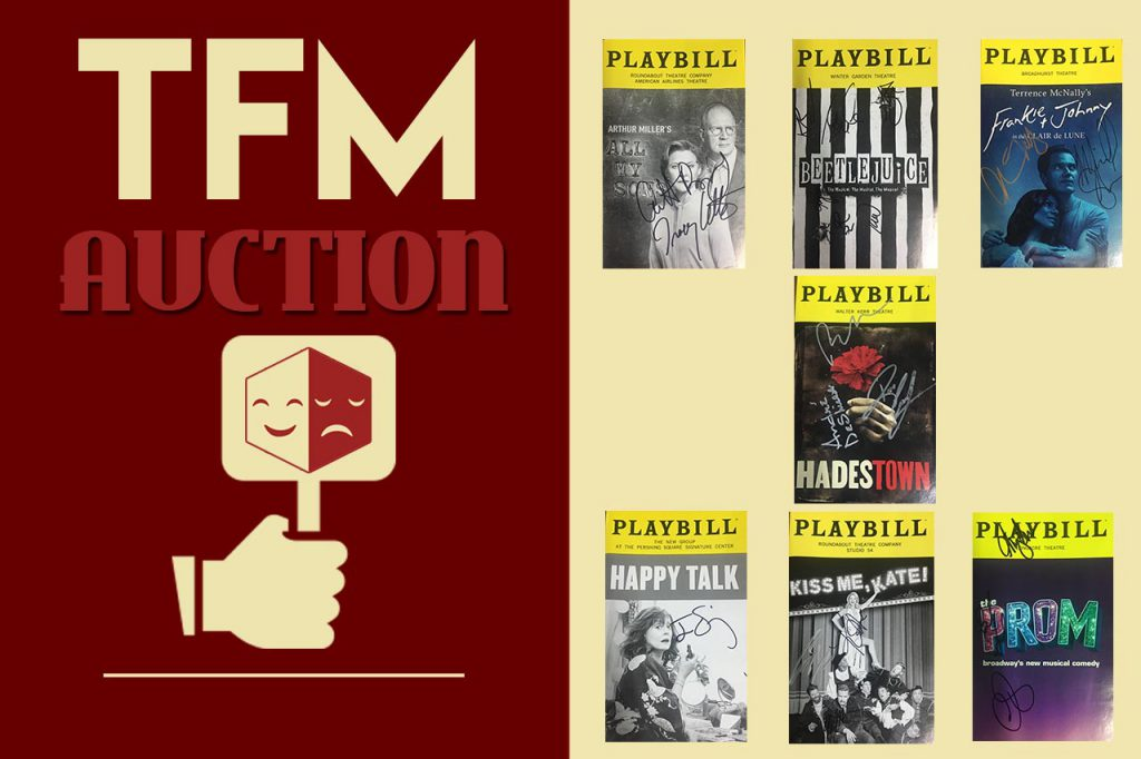 TFMAuction 2019: Signed, Sealed, Delivered!