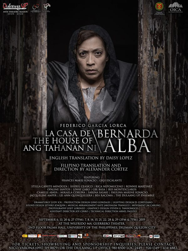 Dulaang UP, The House of Bernarda Alba