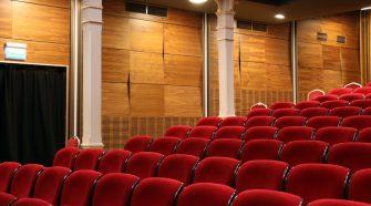 COVID-19 empty theater