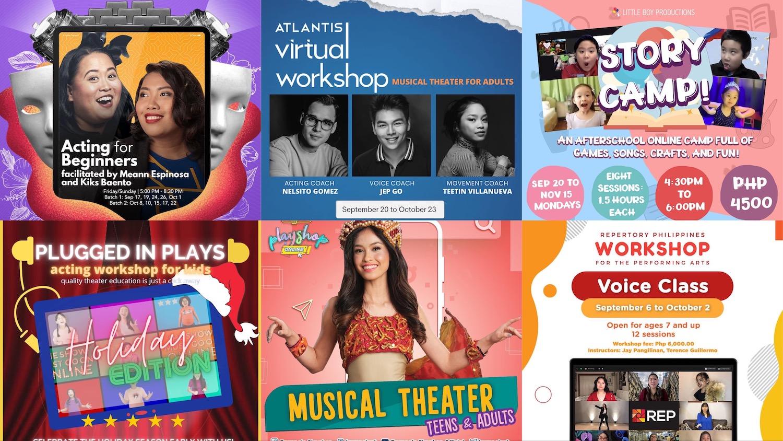 online theater workshops